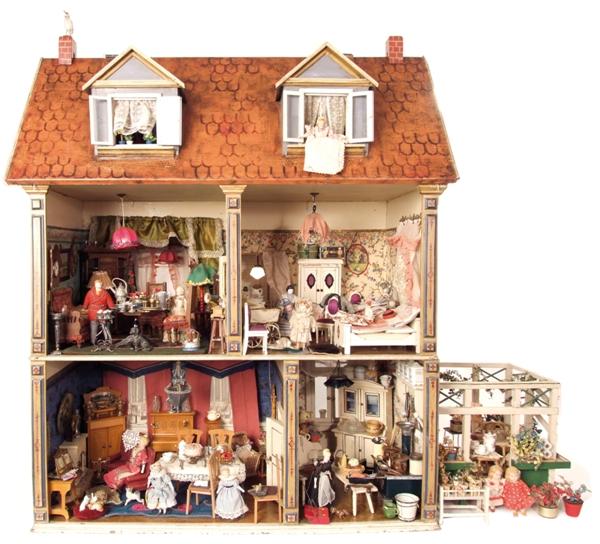int poppenhuis miniaturen en poppen en berenbeurs