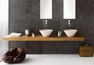 Badkamermeubel Met Kommen : Uniek badmeubel met kommen badkamermeubels ontwerpen
