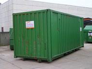 Verhuiscontainer prijs