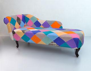 Chaise longue dagbed aanbiedingen en voorbeelden for Chaise longue patchwork