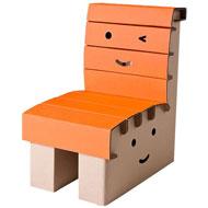 NIEUW: Kartonnen Kinderstoel