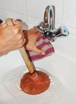 wasbak badkamer verstopt: ronde wastafels in de badkamer eenig, Badkamer